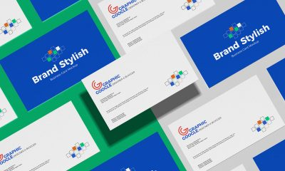 Free-Stylish-Grid-Business-Card-Mockup-Design