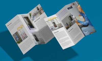 Free-Floating-Stylish-Tri-Fold-Brochure-Mockup-Design