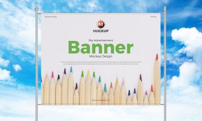 Free-Sky-Advertisement-Banner-Mockup-Design