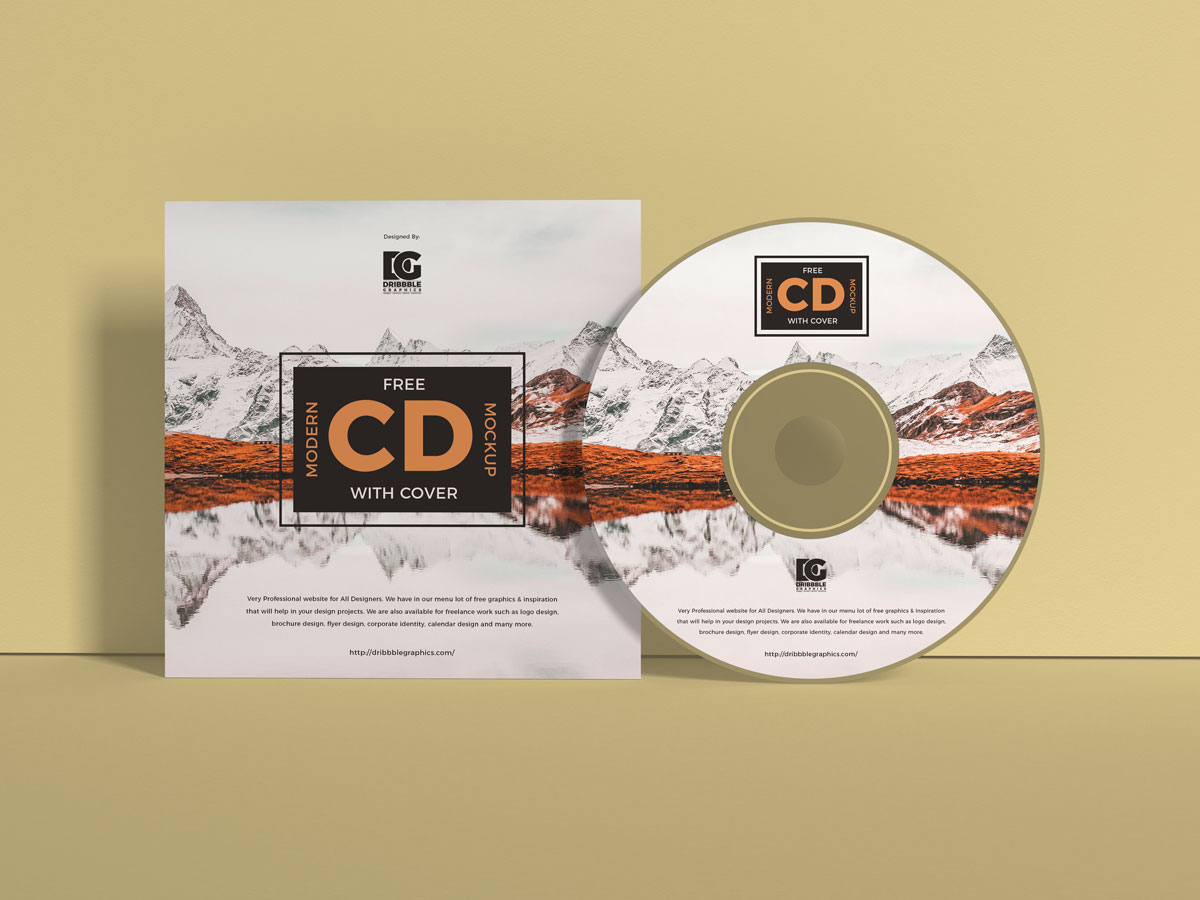 Free-Brand-Cover-With-CD-Mockup-Design