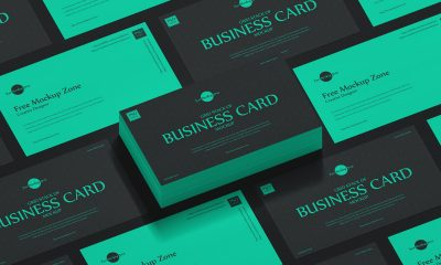 Free-Stack-of-Grid-Business-Card-Mockup-Design