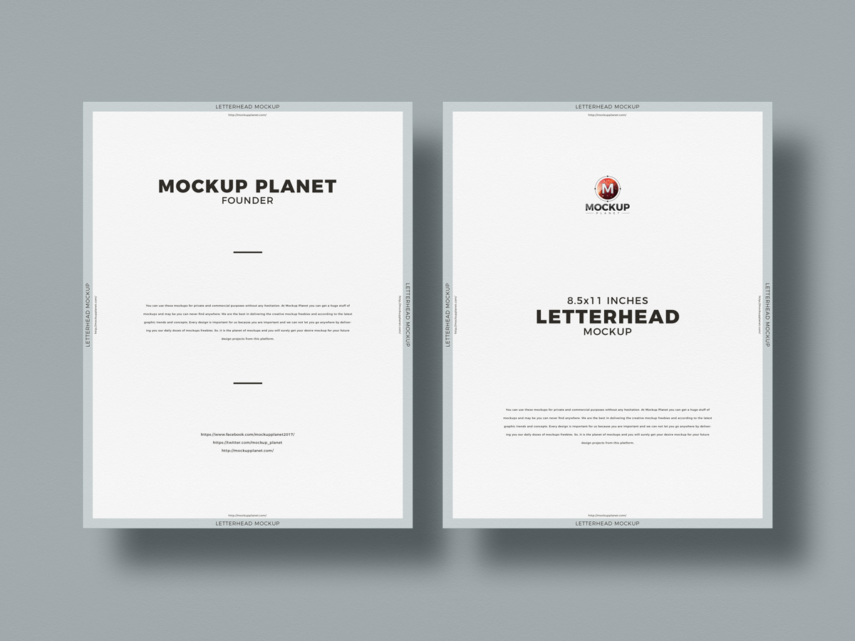 Free-Top-View-Letter-Size-Letterhead-Mockup-Design
