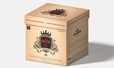 Free-Cardboard-Square-Product-Box-Mockup-Design