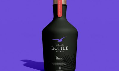 Free-Front-View-Ceramic-Bottle-Mockup-Design