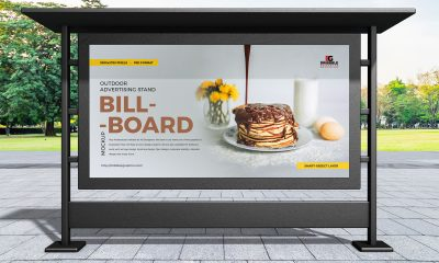 Free-Outdoor-Stand-Advertising-Billboard-Mockup-Design