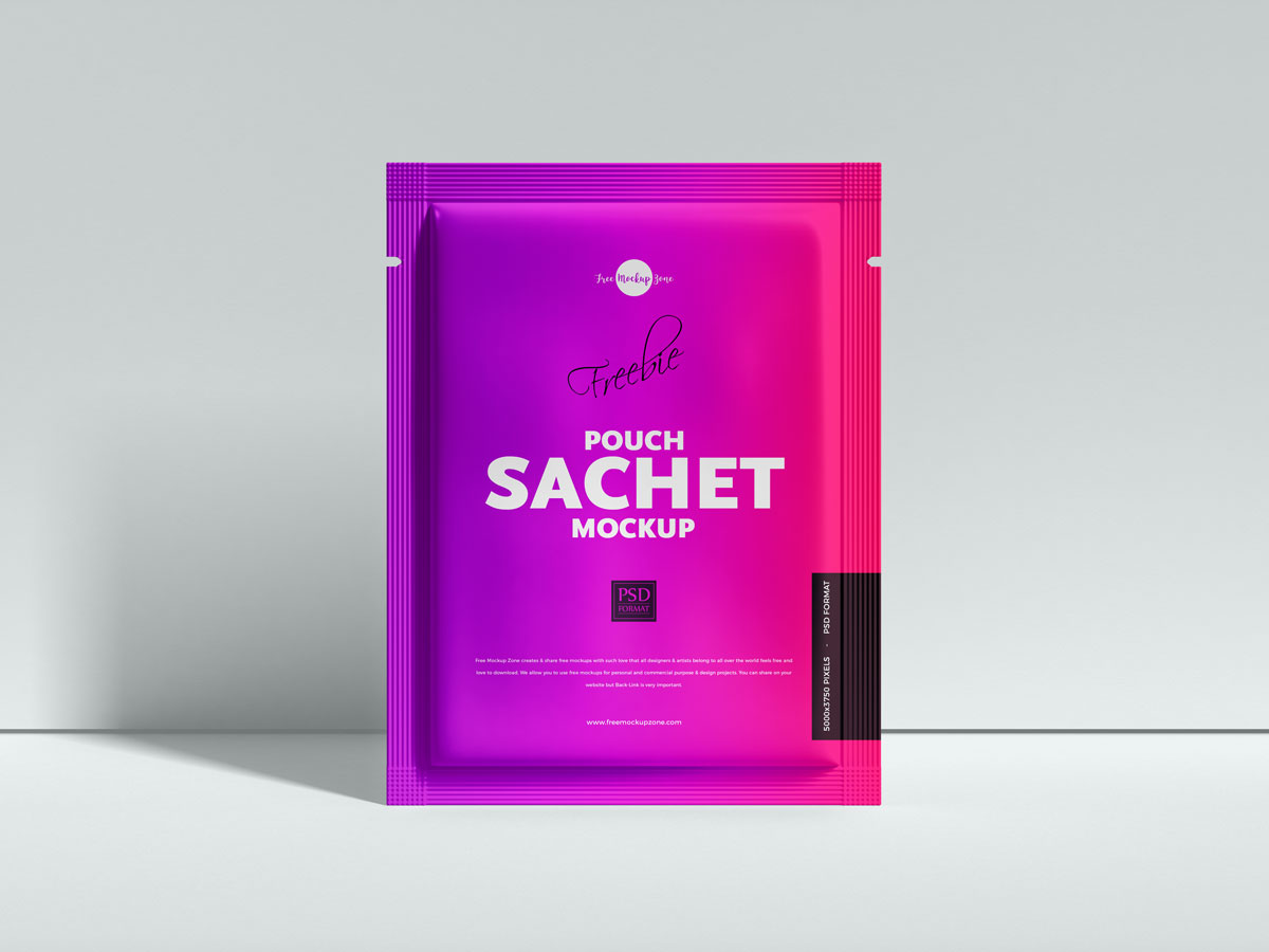 Free-Front-View-Pouch-Sachet-Mockup-Design