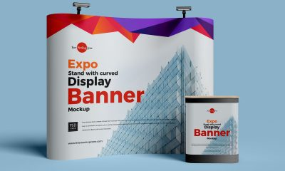 Free-Exhibition-Display-Stand-Banner-Mockup-Design