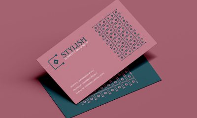 Free-Flying-Business-Card-Mockup-Design