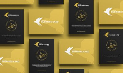 Free-Modern-Grid-Business-Card-Mockup-Design