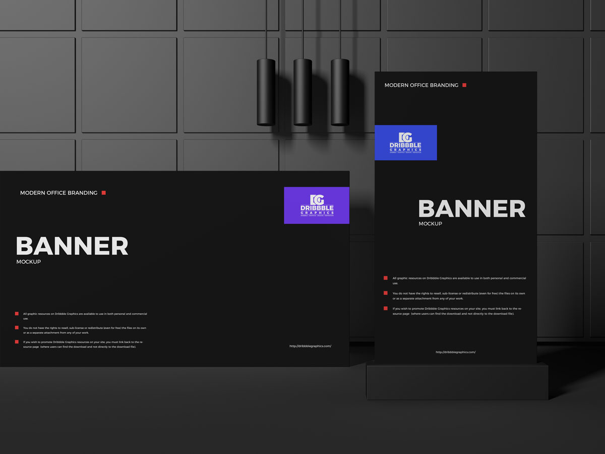 Free-Office-Interior-Advertising-Banners-Mockup-Design