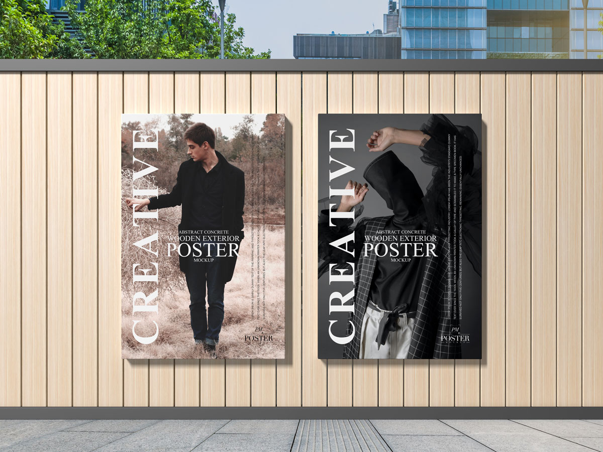 Free-Outdoor-Modern-Advertising-Poster-Mockup-Design