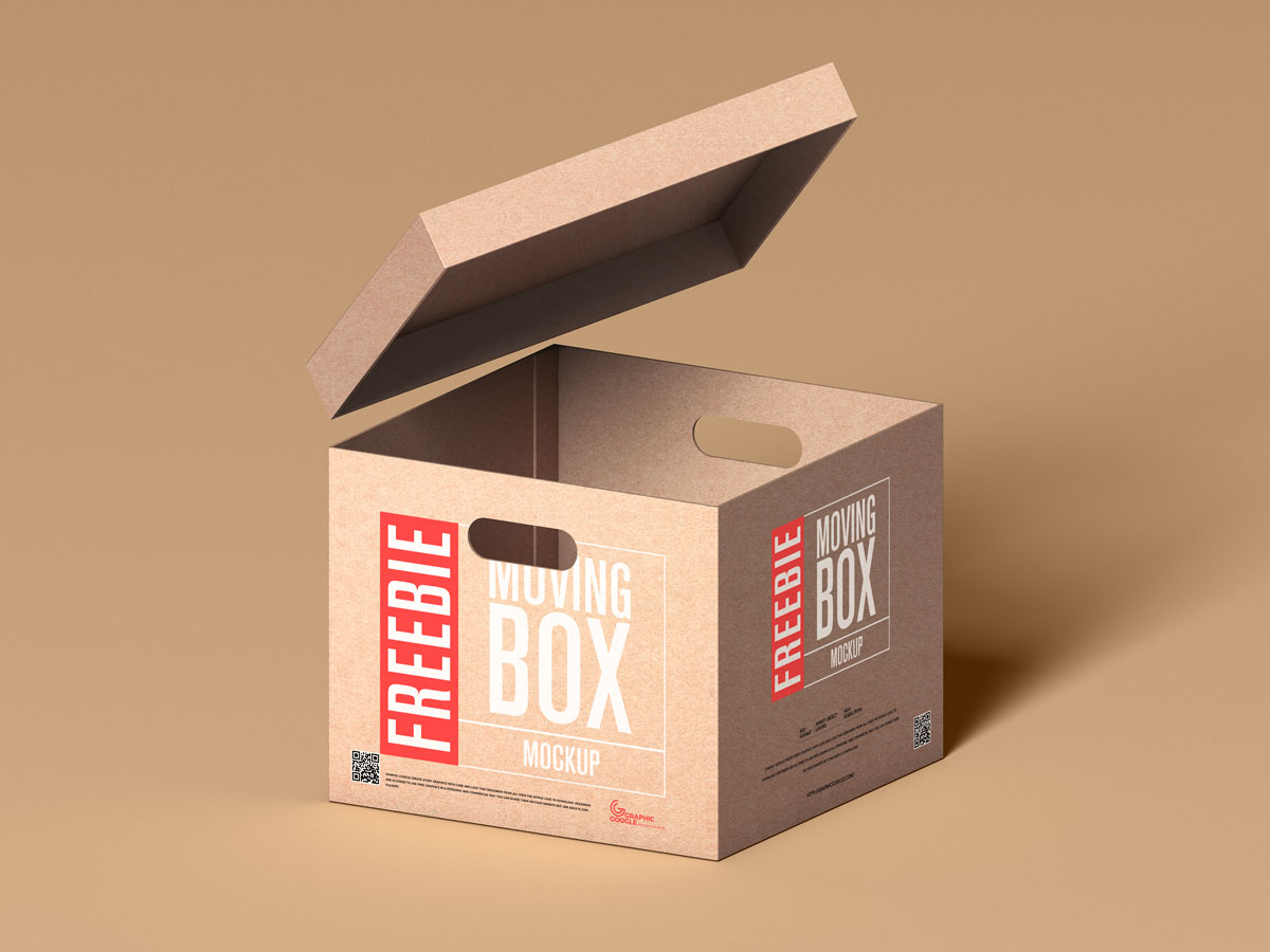 Free-Floating-Lid-With-Box-Packaging-Mockup-Design