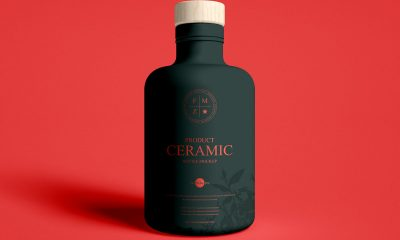 Free-Front-View-Brand-Ceramic-Bottle-Mockup-Design