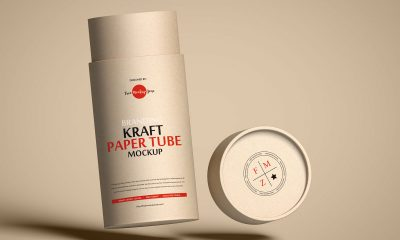 Free-Floating-Craft-Tube-Packaging-Mockup-Design