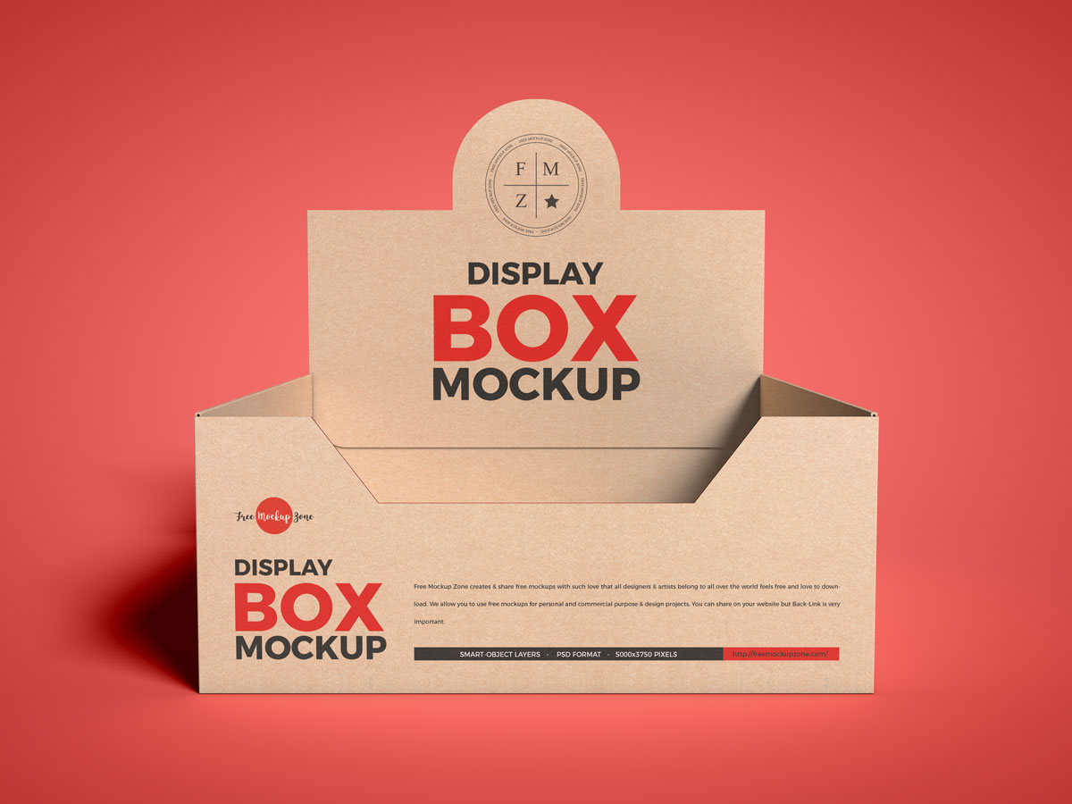 Free-Front-View-Craft-Display-Box-Mockup-Design