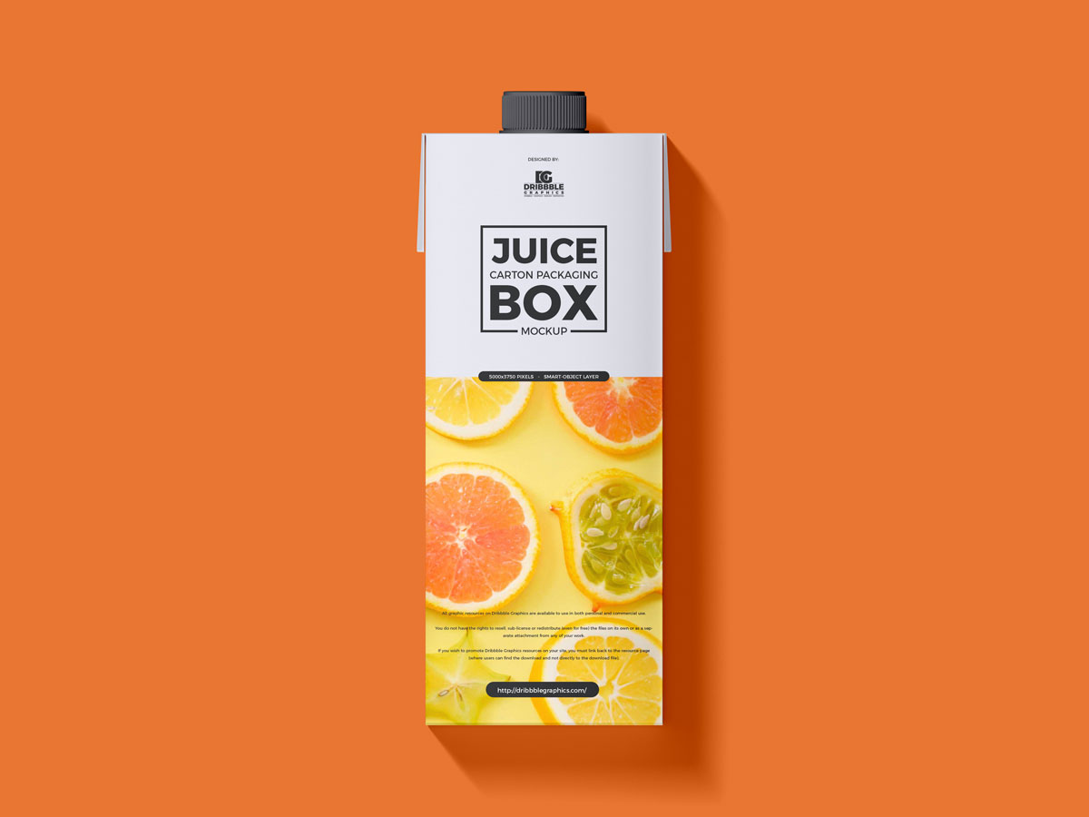 Free-Top-View-Juice-Carton-Packaging-Mockup-Design