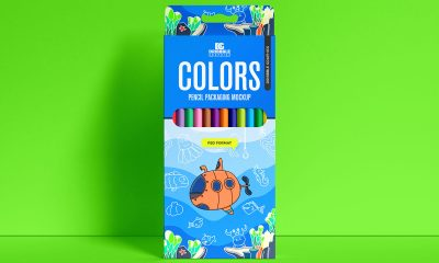 Free-Colors-Pencils-Box-Packaging-Mockup-Design