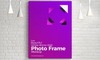 Free-Bricks-Wall-Frame-Mockup