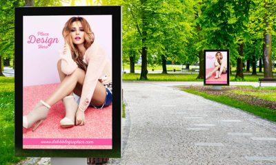 Free-Outdoor-in-Park-Advertisement-Billboard-mockup