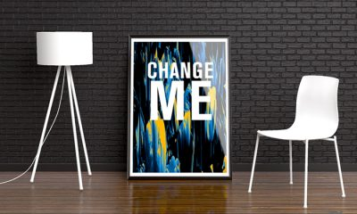Free-Poster-Mockup-on-Wooden-Floor