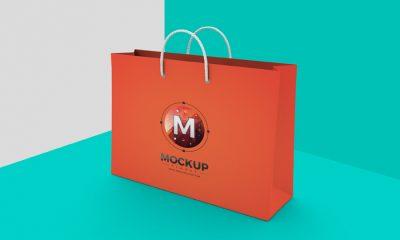 Free-Shopping-Bag-Mockup-on-Texture-Background
