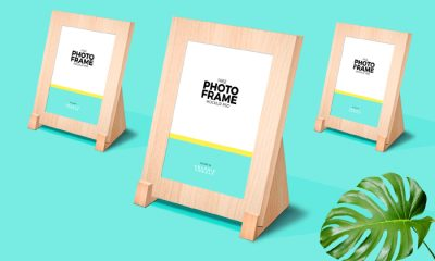 Classy-Wooden-Stand-Photo-Frame-Mockup