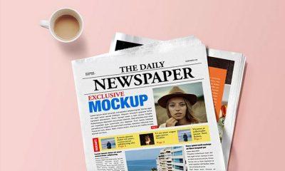 PSD-Newspaper-Mockup