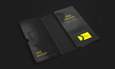 Folder-with-Business-Card-Mockup-PSD