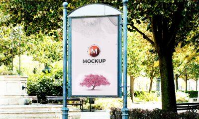 Free-Artistic-Outdoor-Poster-Billboard-Psd-Mockup