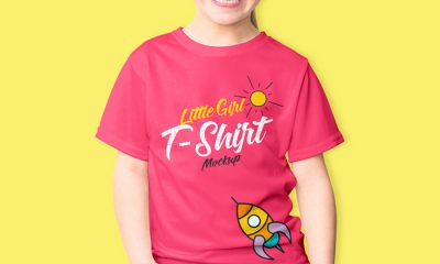 Free-Smiling-Little-Girl-T-Shirt-Mockup-PSD-2018-300