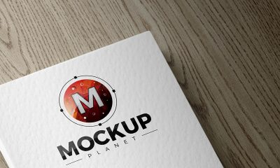 Free-Texture-Card-Logo-Mockup-PSD-With-Wooden-Background-2018