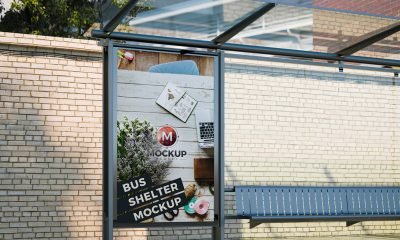Free-Outdoor-Vertical-Bus-Shelter-Mockup-PSD-2018