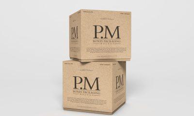 Free-Branding-Stylish-Boxes-Packaging-Mockup-PSD-2019