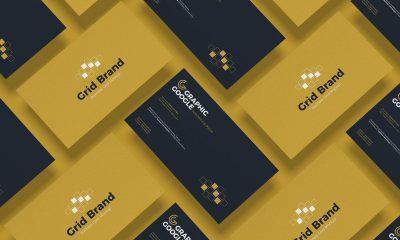 Free-Grid-Business-Card-Mockup