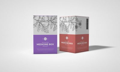 Free-PSD-Packaging-Medicine-Box-Mockup-Design