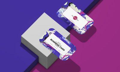 Free-Round-Corner-Business-Card-Mockup-Design