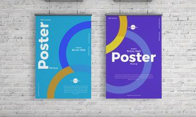 Free-Elegant-Indoor-Hanging-Poster-Mockup-Design