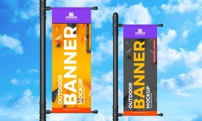 Free-Outdoor-Advertisement-Roadside-Banner-Mockup-Design