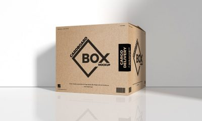 Free-Cargo-Delivery-Packaging-Box-Mockup-Design