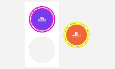 Free-Round-Sticker-Mockup-Design-For-Branding