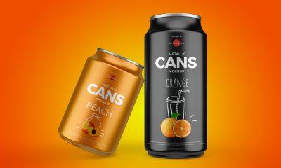 Free-Metallic-Drinks-Cans-Mockup-Design