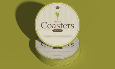 Free-Coaster-Mockup-Design