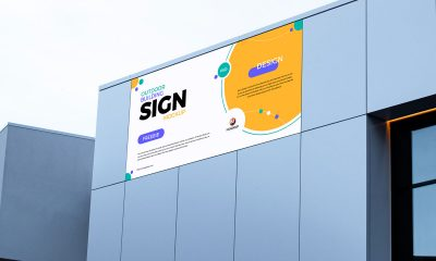 Free-Outdoor-Building-Sign-Mockup-Design