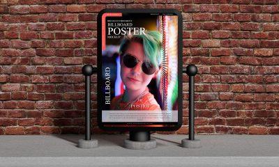 Free-Round-Corner-Billboard-Poster-Mockup-Design