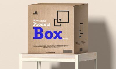 Free-Modern-Product-Box-Packaging-Mockup-Design