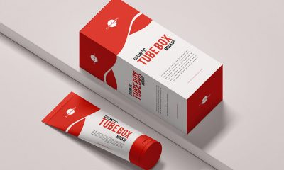 Free-Fabulous-Cosmetics-Tube-With-Box-Mockup-Design