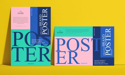 Free-Creative-Branding-Poster-Mockup-Design