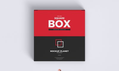 Free-Top-View-Square-Box-Mockup-Design