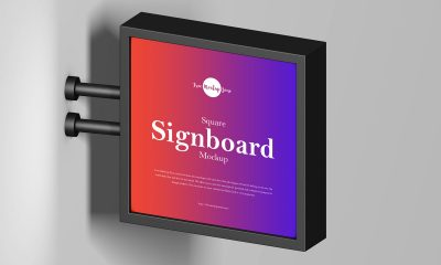 Free-Brand-Advertising-Signboard-Banner-Mockup-Design