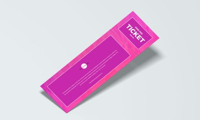 Free-Floating-Branding-Ticket-Mockup-Design